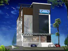 Modern Apartment Building Designs | Kerala Apartments