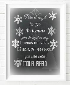 Printable Art Typography Poster Chalkboard Christmas Print Bible Quote Instant Download Digital Download Merry Christmas Décor Wall Art Gift