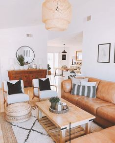 helpful tips for creating bright living room ideas - interior designs -. - helpful tips for creating bright living room ideas - Living Room Interior, Home Living Room, Apartment Living, Living Room Designs, Bright Living Room Decor, Living Room Set Ups, Tan Sofa Living Room Ideas, Brown Leather Couch Living Room, Small Living Room Layout