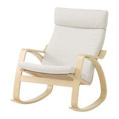 POÄNG Cojín de sillón - Finnsta blanco - IKEA