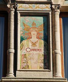 Ceramiques, Bruxelles, Belgique by Henri Privat-Livermont