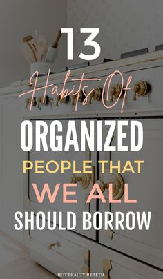 13 Habits Of People With Organized Homes – Hot Beauty Health 13 Habits Of People With Organized Homes – Hot Beauty Health,Organizing These simple organization hacks are incredible! Great organizing ideas for the home. Organisation Hacks, Life Organization, Organize Your Life, Organizing Your Home, Organizing Ideas, Decluttering Ideas, Organising, Declutter Your Home, House Cleaning Tips