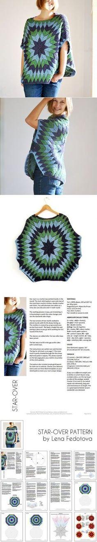 329 mejores imágenes de Punto de crochet | Yarns, Crochet jacket y ...