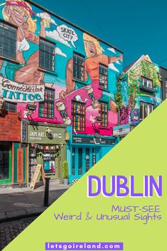 There are so many charming, weird, offbeat, and sometimes simply downright strange places in Dublin that are entirely worth visiting (or doing), but usually are not on most tourist itineraries. This is our list of our top 9 things of weird and unusual sights in Ireland's capital. Enjoy!