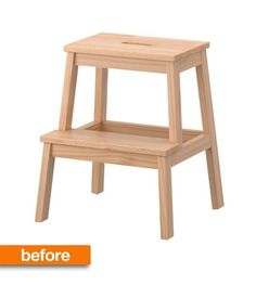 We've see the IKEA BEKVÄM stool in every room of the house, but Kylie shares a hack that I have never seen before. With a few modifications (and nice new coat of paint), see what Kylie now uses it for in her kitchen these days, and the problem it solves...