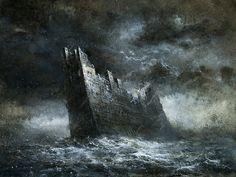 Castle of the Sea by Yaroslav Gerzhedovich