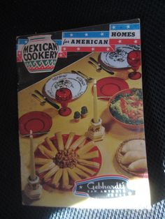 Vintage 1942 Gebhardts Mexican Cookery for by kookykitsch on Etsy, $18.00