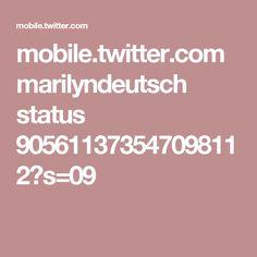 mobile.twitter.com marilyndeutsch status 905611373547098112?s=09
