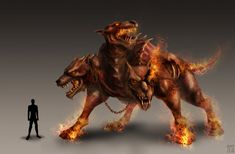 Cerberus - Mythical Creatures List