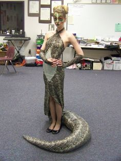 jungle book snake costume | Kaa Costume