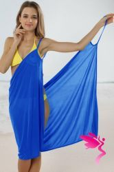 Cheap Sexy Stylish Cross Front Beach Cover-up Sapphire Blue online - All Products,Sexy Swimwear,Cover-Ups & Beach Dresses Swim Cover Ups, Beach Cover Ups, Swimwear Cover Ups, Beach Dresses, Blue Dresses, Sexy Beach Wear, Beach Wrap, Coral Blue, Bikinis
