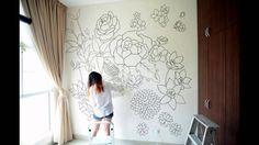 HIS: Авторские стены: роспись в интерьере
