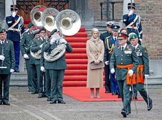 December 4, 2014: King Willem-Alexander awarded the Military Order of William to Major Gijs Tuinman during a ceremony in The Hague today.
