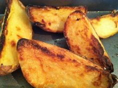 Cheat healthy potato wedges