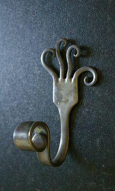 Stainless steel hook. DIY