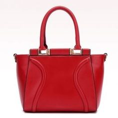 Red Cat Walk Tote Bags with Zip Closure