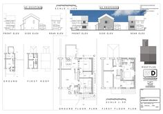 Planning submitted for this domestic extension #architecture