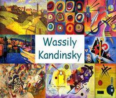 Wassily Kandinsky, Kids Art Class, Art For Kids, Kandinsky For Kids, Elements Of Art Color, Round Robin, Art Lessons Elementary, Art Plastique, Teaching Art