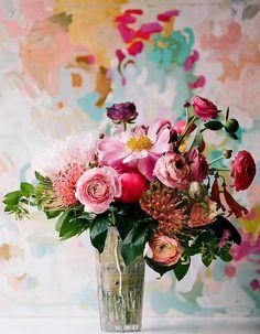 32 petits arrangements floraux - Elle Décoration