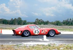 https://flic.kr/p/GbaiGJ | Ferrari 250 GTO at Sebring in 1966 | The Jack Slottag, Larry Perkins Ferrari 250 GTO (chassis #3223GT) out in the boonies at Sebring in 1966.  The car failed to finish due to accident damage.  This is the very first 250 GTO built.  Owners Slottag & Perkins scored a class win at the Daytona 24 six weeks earlier.  It also had several wins at Nassau with Lorenzo Bandini winning the GT class.
