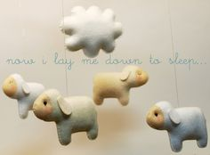 Handmade Wool Felt Deco Mobiles