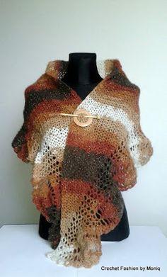 Crochet fashion by Moniq