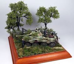 SdKfz234/2 Puma 1/72 Scale Model