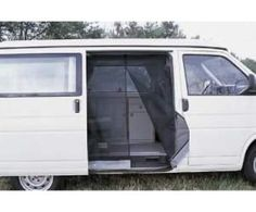 03fd6422b6 Mosquito netting for sliding door of minivan. Moskitonetz VW T4 - Art.-Nr