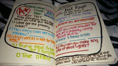 One of my Wreck This Journal pages I did today. Just got the book, loving it so much already. Test Page