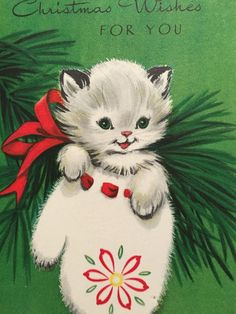 Vintage Christmas Images, Retro Christmas, Christmas Love, Christmas Holidays, Vintage Holiday, Christmas Ideas, Vintage Greeting Cards, Vintage Postcards, Xmas Cards