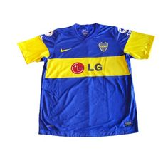 58d0d5ce0d  NIKE BOCA JUNIORS 2012 PLAYERS VERSION HOME JERSEY -- Boca Juniors 2011-12  home player version authentic shirt in royal
