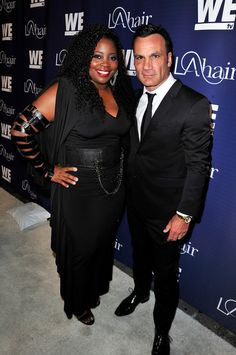 Jonathan Antin and Kim Kimble of 'LA Hair'