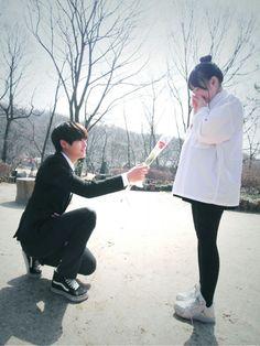 Ulzzang couple ♥                                                       …