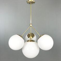 Tetra Globe Chandelier