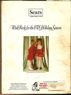 SEARS WISH BOOK FOR THE 1978 HOLIDAY SEASON CATALOG