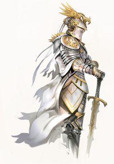 Jarvan commandant des armées de Dématia avec sa femme Aria