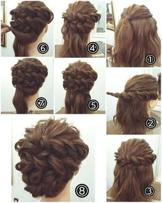 Double Dutch Braid Upstyle The post Easy Wedding Hairstyles For Long Hair Updo appeared first on Hair Styles. Diy Wedding Hair, Wedding Hairstyles For Long Hair, Fancy Hairstyles, Braided Hairstyles, Simple Hairstyles, Hairstyle Ideas, Pinterest Hair, Hair Dos, Hair Hacks