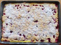 Raspberrybrunette: Jednoduchý tvarohový koláč s ovocím Krispie Treats, Rice Krispies, Cake, Desserts, Food, Tailgate Desserts, Deserts, Kuchen, Essen