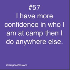 Confessions of campers, counselors, and life long outdoor enthusiasts. Camping Humor, Camping Life, Summer Camp Quotes, Christian Camp, Christian Humor, Young Life Camp, Great Quotes, Inspirational Quotes, Youth Camp