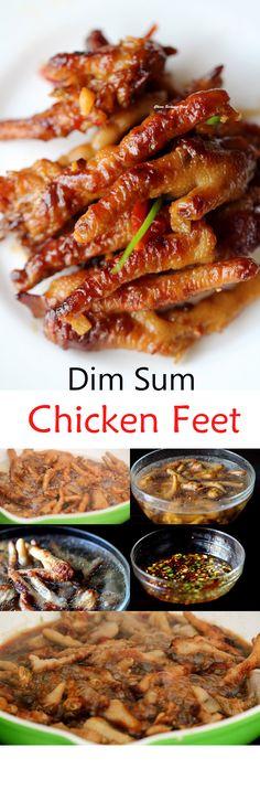 Dim Sum Chicken Feet | China Sichuan Food