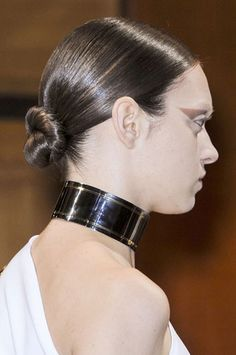 The Most Anticipated Hair Trends For Spring 2013 - Tying The Knot - Givenchy
