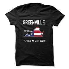 HAMILTON - Its where my story begins! - #tie dye shirt #jean shirt. SATISFACTION GUARANTEED => https://www.sunfrog.com/No-Category/GREENVILLE--Its-where-my-story-begins-47672114-Guys.html?68278