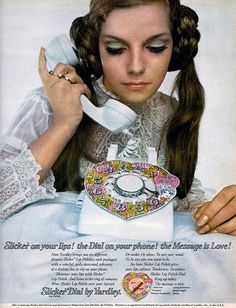 Slicker Dial by Yardley, 1968