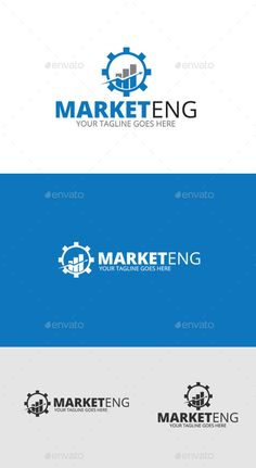 Marketing  - Logo Design Template Vector #logotype Download it here: http://graphicriver.net/item/marketing-logo-template/9220765?s_rank=1760?ref=nexion