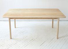 Fort Standard | white oak dining table