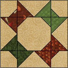 Debbie Mumm: 2009 Quilt Web Project Block Twelve