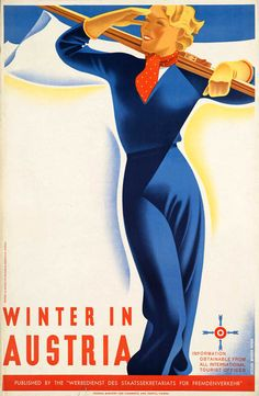 Gorgeous Vintage Posters from the Golden Age of Skiing | Brain Pickings