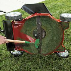 #Lawn Mower Scraper from Get Organized