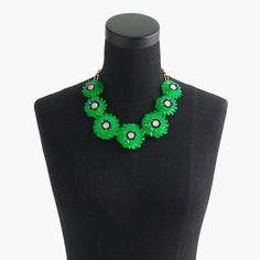 Zinnia crystal necklace : Jewelry Shop | J.Crew