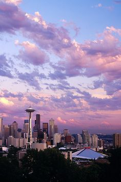 The beautiful Seattle Skyline
